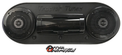 """Drive Unlimited's """"The MAC"""" Roll Bar Mount 2 Speaker Stereo System"""