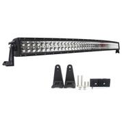 "288 Watt 50"" Double Row Curved LED Light Bar - Combo Beam 21,200 Lumens"