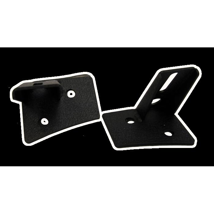 Led light bar mounting brackets jeep jk series single for Rose city motors jackson mi inventory