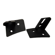 LED Light Bar Mounting Brackets - Jeep JK Series - Single Work Light