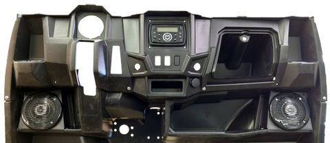 Drive Unlimited's Polaris Ranger Midsize In Dash Kit Installed