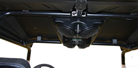 The System bolts directly to your factory ROPS with no drilling, no roof required