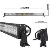 "288 Watt 50"" Double Row LED Light Bar  21,200 Lumens  - Combo Beam"