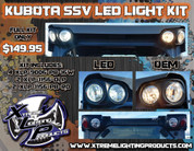 Kubota SSV LED Light kit