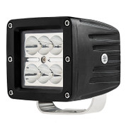 "RTV1100 LED Light Kit 2 - 3"" Square Work lights - Includes(Wire Kit, Brackets, Switch)"
