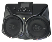 Drive Unlimited's CAN-AM MAVERICK X3 BLUETOOTH OVERHEAD STEREO SYSTEM