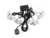Xtreme Lighting Products' - 24 Watt 8 Bulb LED Grille Strobe Light Bar - Amber