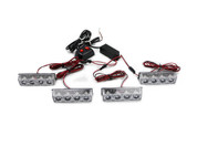 Xtreme Lighting Products' - 16LED Grille Strobe Light with On/Off Switch - Amber