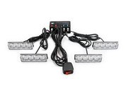 Xtreme Lighting Products' - 16LED/4 Panel Grille Strobe Light - Amber