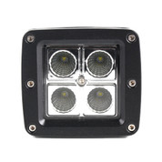 "Xtreme Lighting Products' ""Element""  3in Square 4 CREE LED Work Light - Flood"