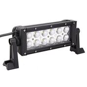 """36 Watt 7.5"""" Double Row Cree LED Light Bar - 2640 Lumens -Combo Beam"""