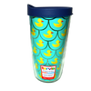 Chatham Ducks brand scalloped rubber duck pattern Tervis Insulated Tumbler with lid | Ducks in the Window