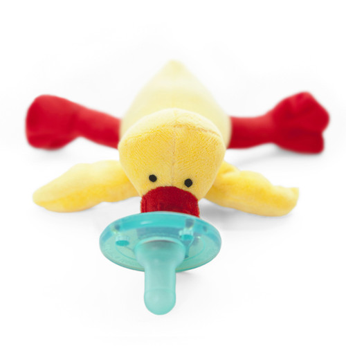Wubbanub yellow duck pacifier Baby Gifts | Ducks in the Window