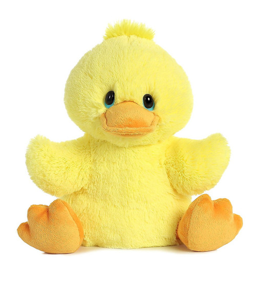 Quack Sound Squeezable Ducky by Aurora | Ducks in the Window