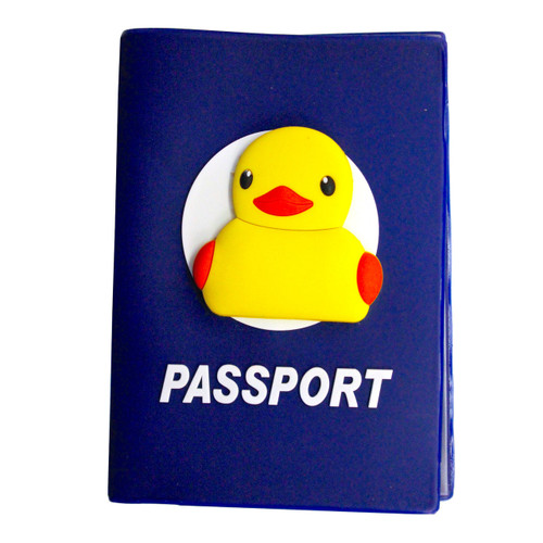 Rubber Duck Passport Holder | Ducks in the Window