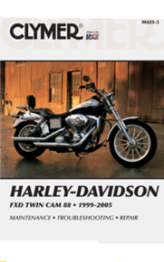 Harley Manual Clymer 99-05 Dyna Twin Cam 88