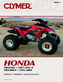 Honda ATV  Manual (Clymer)  TRX250X/300EX