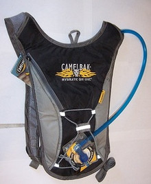 Hydration Camelback  Hydroback  Black w/Skull