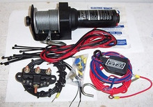 ATV Winch Quadboss 2000LB.50ft cable new