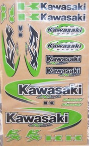 Decal kit  N-Style Kawasaki KX Off-Road New
