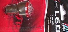 Motorcycle LED Taillight Bulb Red 1157 12Volt New