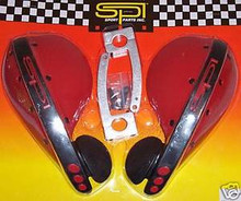Hand Guards SPI Red Snowmobile.ATV/Off- Road  New