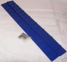 Snowmobile Running Board Sno-grips Blue rectangular new