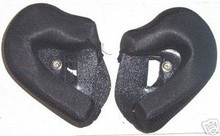 Zeus 508W Modular Helmet Cheek Pads   New Black