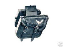 Saddle BagsWillie & Max Black Magic Compact Slant New