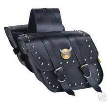 Saddle Bags Willie & Max Studded Compact Slant Bags