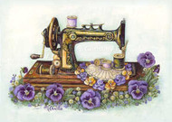 Machine and Pansies