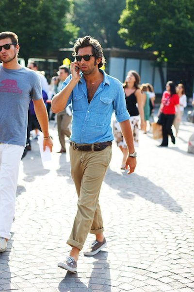 5 Ways To Wear A Denim Or Chambray Shirt Joe Button