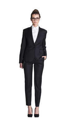 THE BLACK PANT SUIT