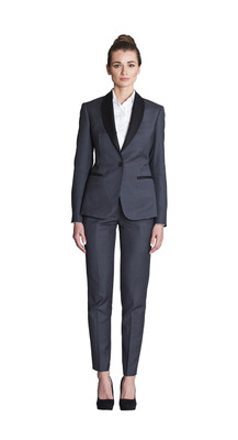 THE GREY PANT SUIT