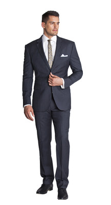 THE GREY STRIPE SUIT