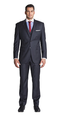 THE CHARCOAL THREE PIECE SUIT