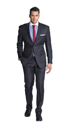 THE CHARCOAL TWO PIECE SUIT