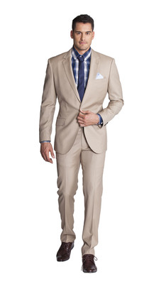 THE TAN TWO PIECE SUIT