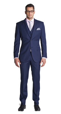 THE BLUE THREE PIECE SUIT
