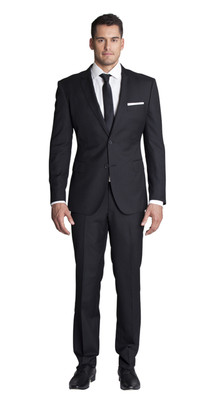 THE BLACK TWO PIECE SUIT