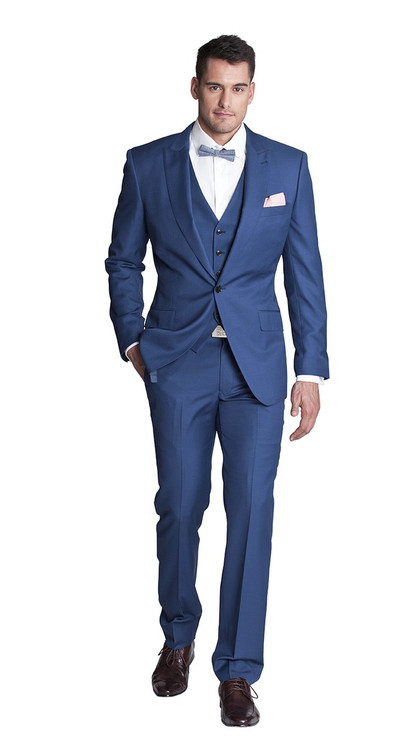 Belfort Three Piece Suit - Joe Button