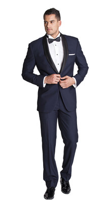 THE DARK NAVY TUXEDO