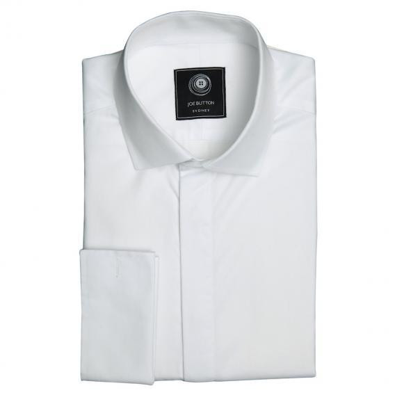 The Premium White Shirt With Hidden Placket Women
