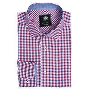 THE RED/BLUE GINGHAM SHIRT (WOMEN)