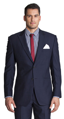 THE DARK NAVY BLAZER