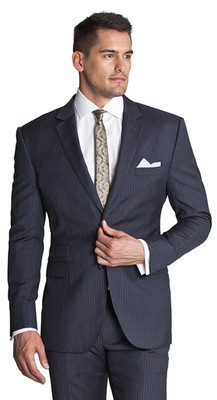 THE GREY STRIPE BLAZER