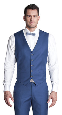 THE COBALT BLUE VEST