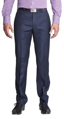 THE NAVY SHARKSKIN PANTS