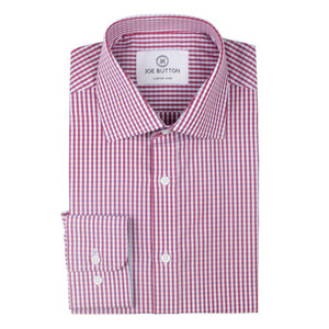 The Red & Light Blue Mini Check Shirt