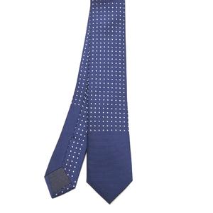 Skinny Polka Dot Dark Blue Tie